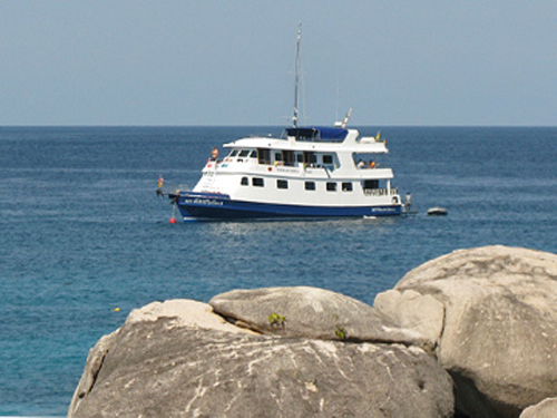mq2 Tauchsafari Khao Lak Similan Islands Koh Bon Koh Tachai Richelieu Rock Tauchen Thailand