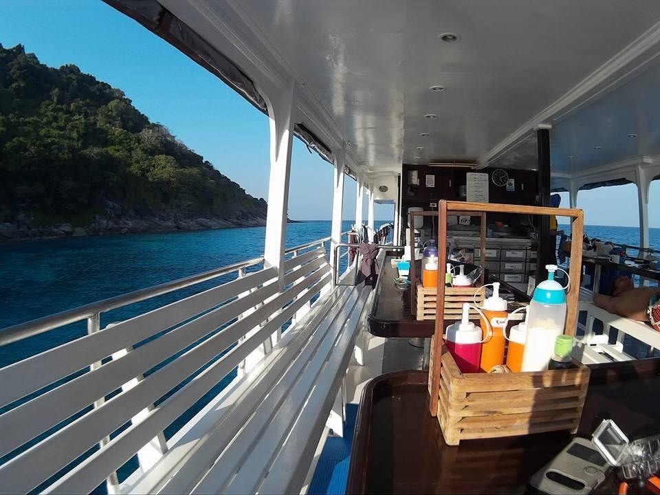 Khao Lak Tauchsafari Similan Islands Koh Bon Koh Tachai Richelieu Rock Tauchen Thailand