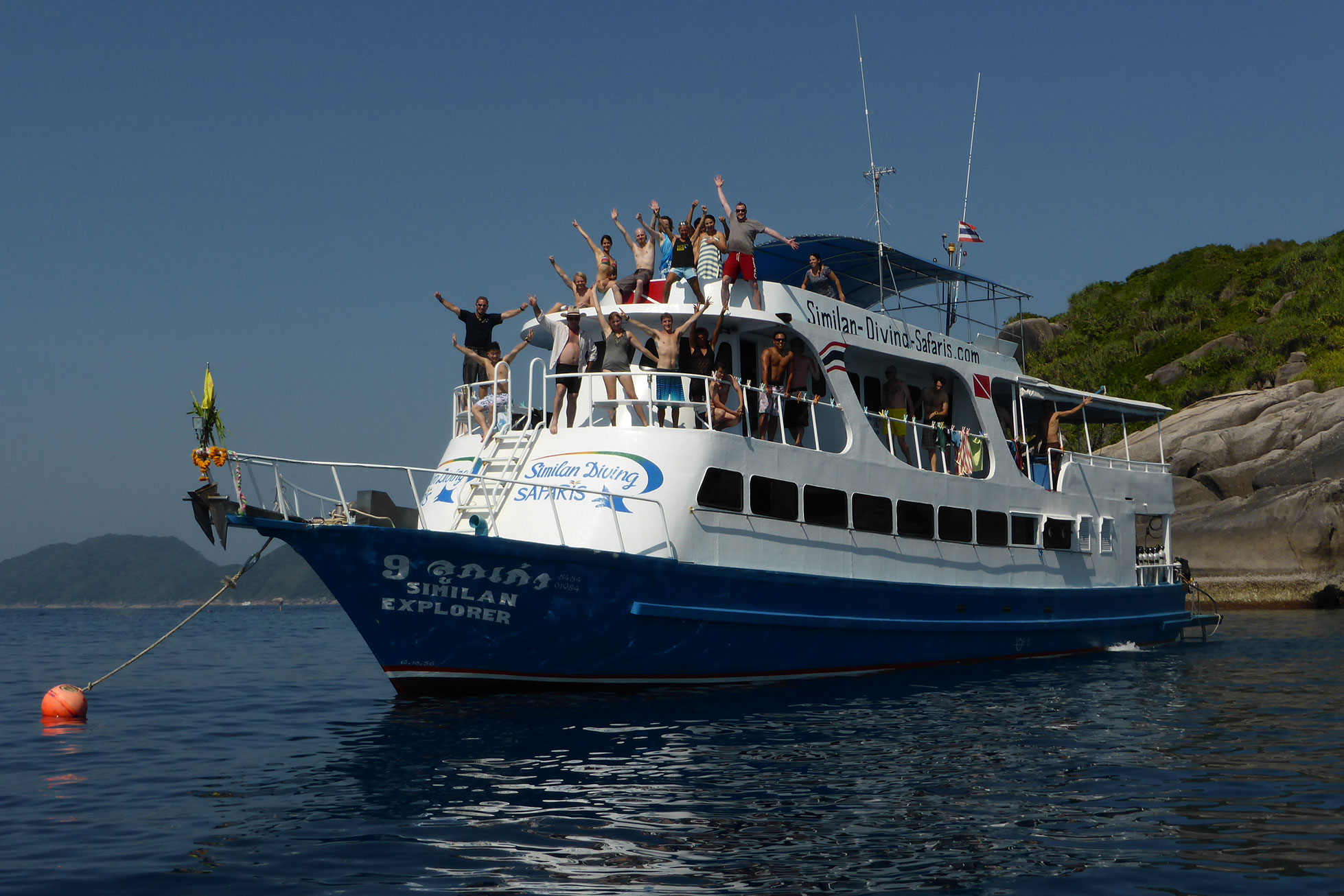 Similan Explorer Tauchsafari Khao Lak Similan Islands Koh Bon Koh Tachai Richelieu Rock Tauchen Thailand